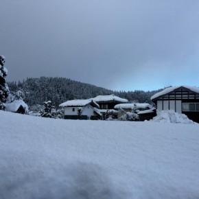 新潟の冬は雪と水